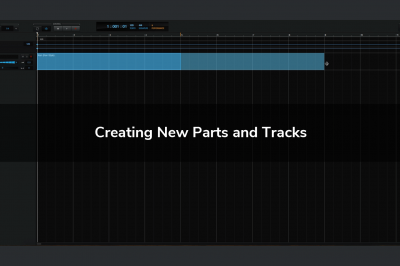 Creating New Parts and Tracks