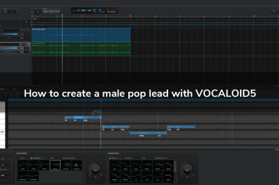How to create a male pop lead with VOCALOID5