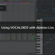 Using VOCALOID5 with Ableton Live