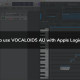 Using VOCALOID5 with Apple Logic Pro X