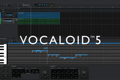 """VOCALOID5"" Released Today ~ Drag and drop to create a singing voice, set any lyrics and singing style you like ~"