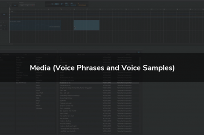 Media (Voice Phrases and Voice Samples)