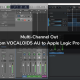 Multi-Channel Out from VOCALOID5 AU to Apple Logic Pro X