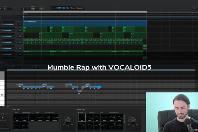 Mumble Rap with VOCALOID5