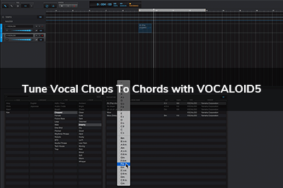 Tune Vocal Chops To Chords with VOCALOID5  (no music theory needed)